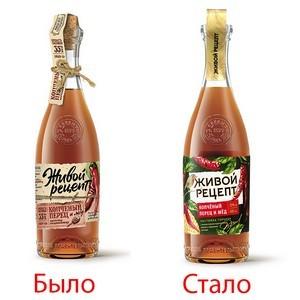Компания «Культура» провела рестайлинг бренда натуральных настоек «Живой Рецепт»