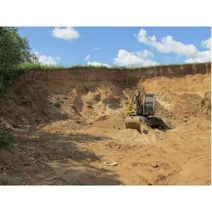Незаконная разработка общераспространенных полезных ископаемых