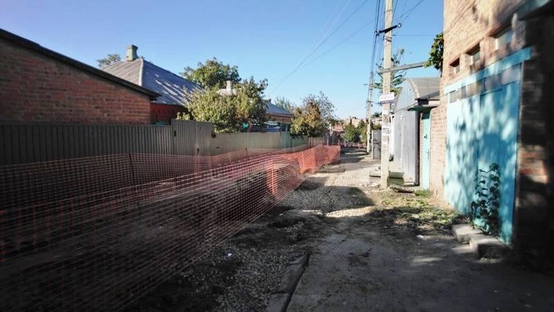 В результате обращения граждан заменен участок водопровода в Ростове-на-Дону