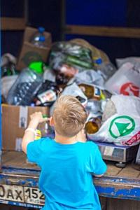 Почти 7 тонн использованного пластика было сдано во вторичную переработку за прошедший месяц