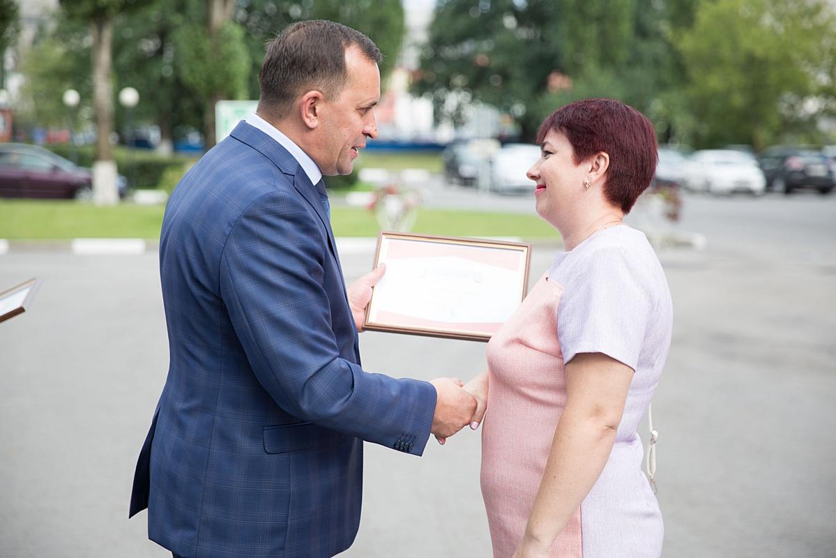 На Стойленском ГОКе открыли доску почета