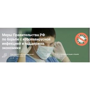 Сервис о мерах поддержки граждан и бизнеса в условиях коронавируса