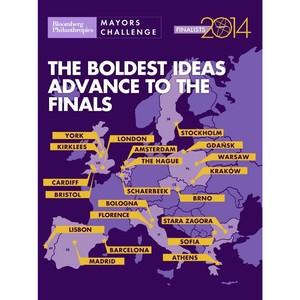 Финалистом конкурса Mayors Challenge 2013-2014 фонда  Bloomberg Philanthropies стал 21 город Европы