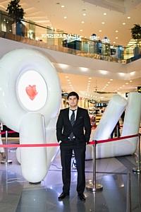 Художница Lina Condes презентовала скульптуру в ТРЦ Sky Mall