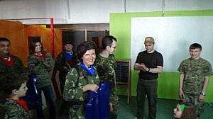Ростовский лазертаг для СМИ – прямо в центре города