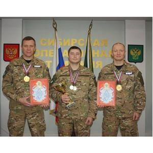 Сотрудники CОБР Сибирской оперативной таможни стали лучшими  в соревнованиях силовиков по стрельбе