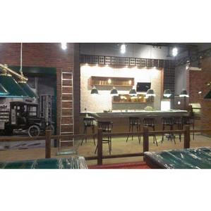 Компания Ukrintel Construction изготовила мебель для боулинга Lucky Strike