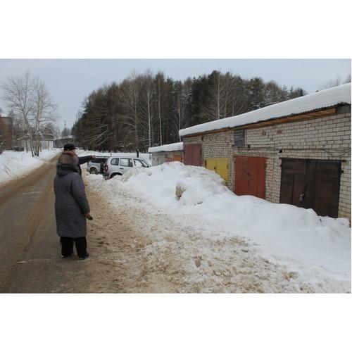 После вмешательства ОНФ гаражи инвалидов освободили из снежного плена