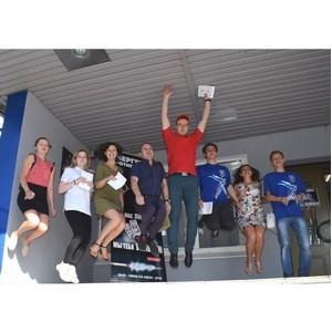 Совет молодежи и студотряд Костромаэнерго провели антиникотиновую акцию