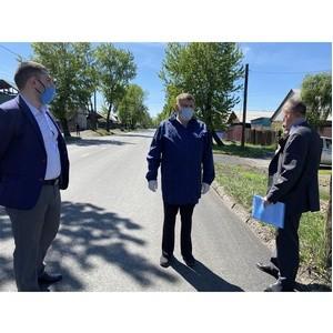 Благодаря тувинским экспертам ОНФ убитых дорог в Кызыле стало меньше