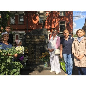 ОНФ поможет защитить народный памятник погибшим в ВОВ сотрудникам Второго троллейбусного парка