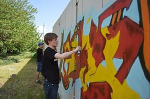 Unitile стал спонсором граффити-фестиваля