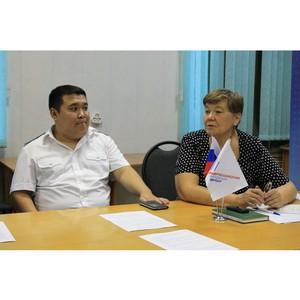 Активисты ОНФ выступили за доработку территориальной схемы обращения с отходами в Туве