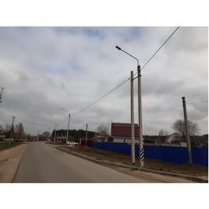 Энергетики обеспечили освещение дорог в Богдановке и Кулешовке