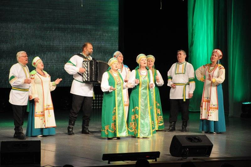 Гала-концерт I Всероссийского фестиваля патриотической песни «Мое Отечество – моя Россия»