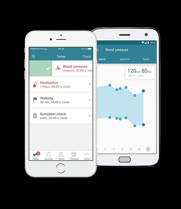 Мобильное приложение MyTherapy