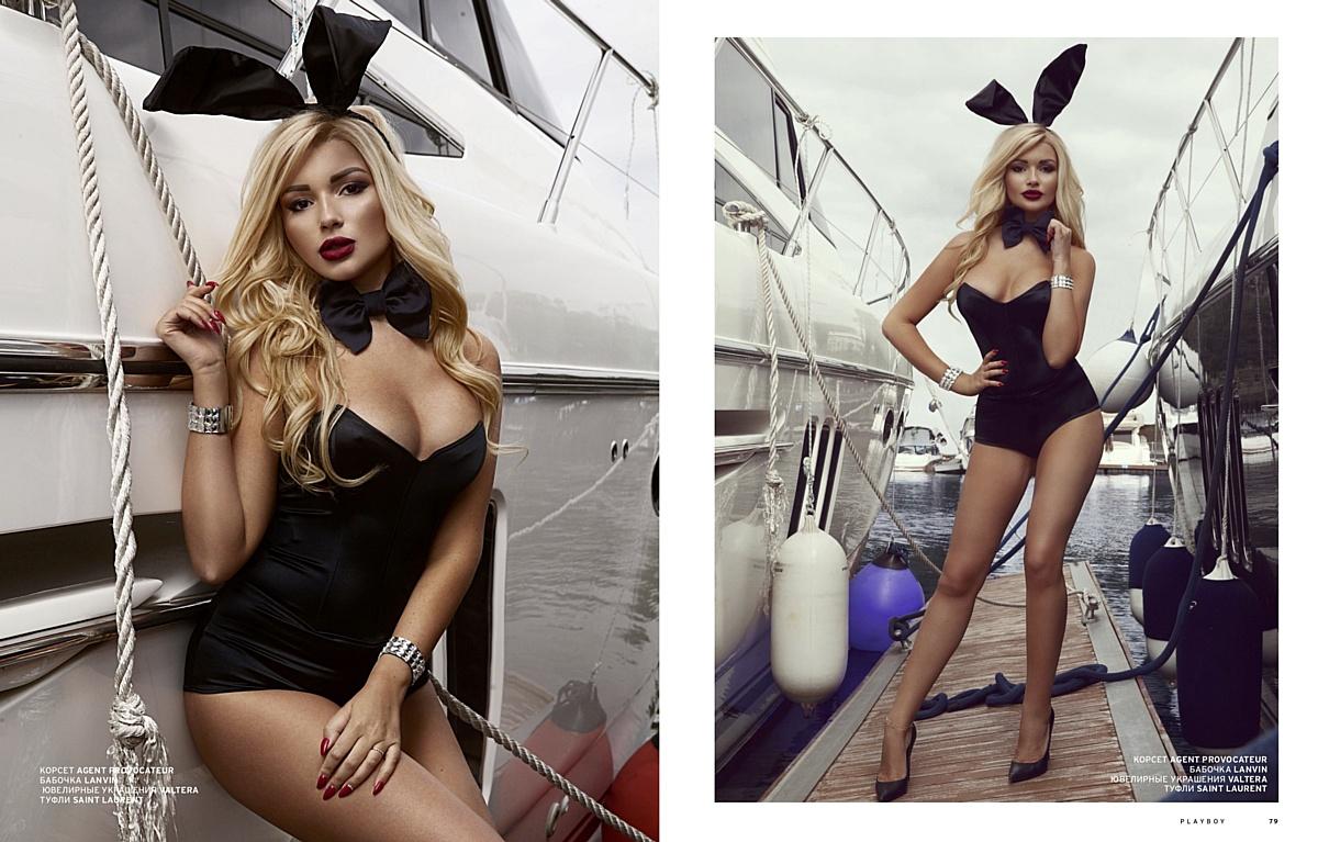 Ася Пугачёва повторила образ Кэмерон Диаз и попала на обложку Playboy