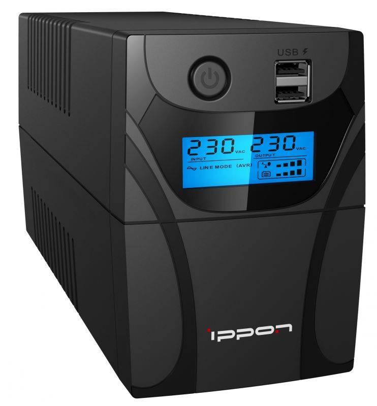 Back Power Pro II – эволюционное развитие ИБП Ippon