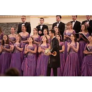 Петербуржцы смогли бесплатно посетить Капеллу и услышать хор студентов