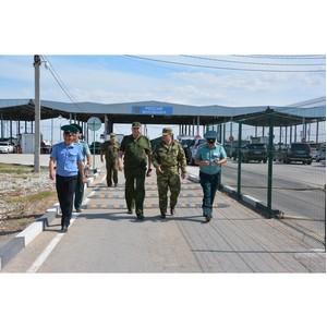 Начальник ЮТУ посетил вошедшие в состав управления Крымскую и Севастопольскую таможни