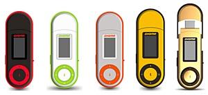 MP3 плеер Digma U1: цветовые вариации