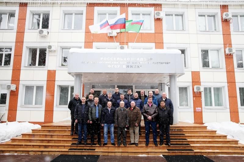 Агрономы Астраханского филиала прошли курсовую подготовку по проведению фумигационных работ