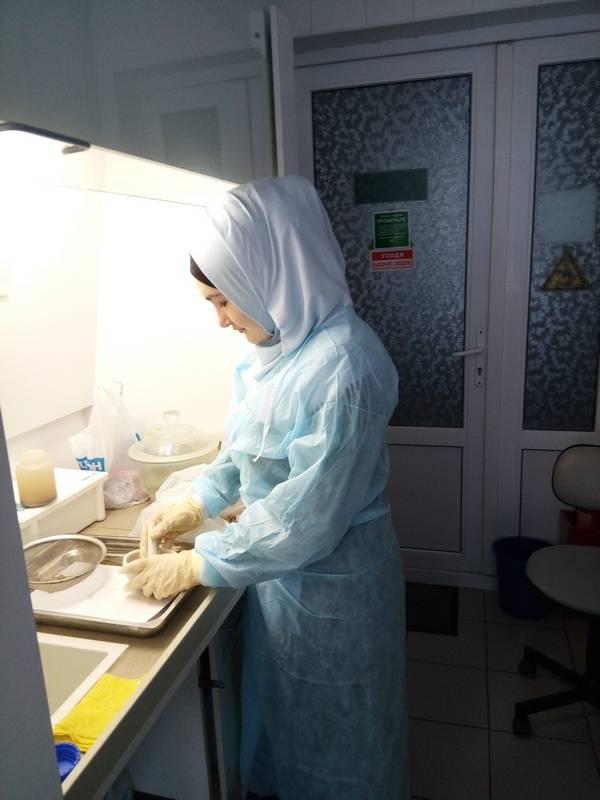 О повышении квалификации специалистов Астраханского филиала по паразитологии
