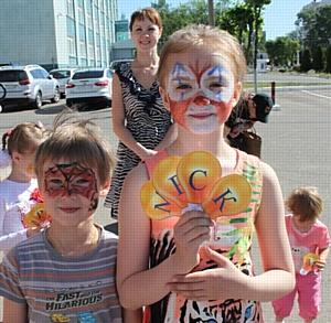 Праздник 1 июня сотрудники костромского филиала МРСК Центра встретили вместе с детьми