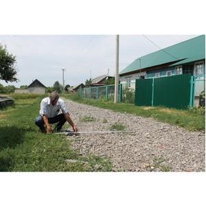 ОНФ обратил внимание властей на нарушения при ремонте дороги в Малой Приваловке