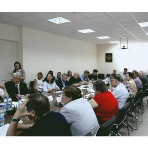 В новый состав Общественной палаты региона вошли члены Свердловского РО