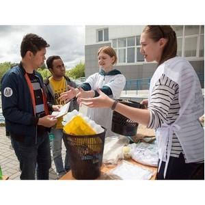 Томских студентов научили принципам раздельного сбора отходов