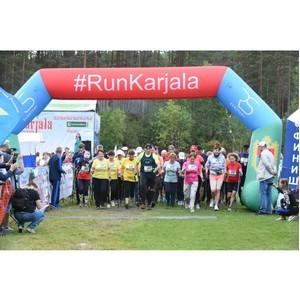 При поддержке РСХБ в Карелии состоялся юбилейный фестиваль бега «Karjala»