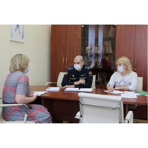 Главный судебный пристав и детский омбудсмен провели совместный прием