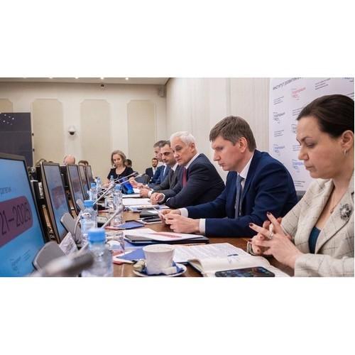 А. Белоусов обозначил приоритетные направления работы Корпорации МСП