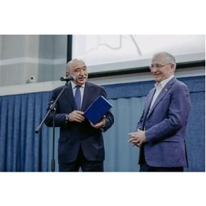 В КФУ презентовали семитомник татарского поэта и писателя Разиля Исмагиловича Валеева