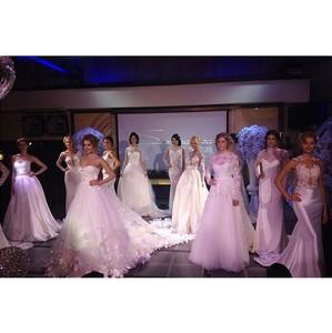Модели агентства «Столица» продемонстрировали роскошные свадебные платья