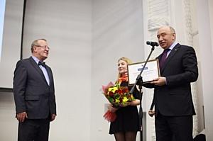 Ректор КФУ принял участие в заседании Ученого совета Института управления, экономики и финансов