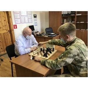 Свердловские росгвардейцы отметили Международный день шахмат