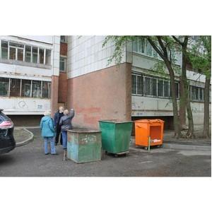 ОНФ просит власти благоустроить двор многоквартирного дома в Воронеже
