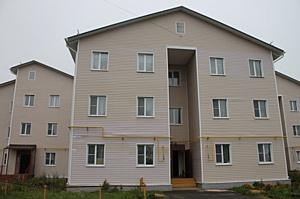 Активисты ОНФ держат на контроле устранение недостатков в «новом аварийном» доме в Коляново