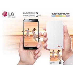 Покупатели смартфонов LG Optimus G и Optimus G Pro получат LG Pocket Photo PD233 в подарок