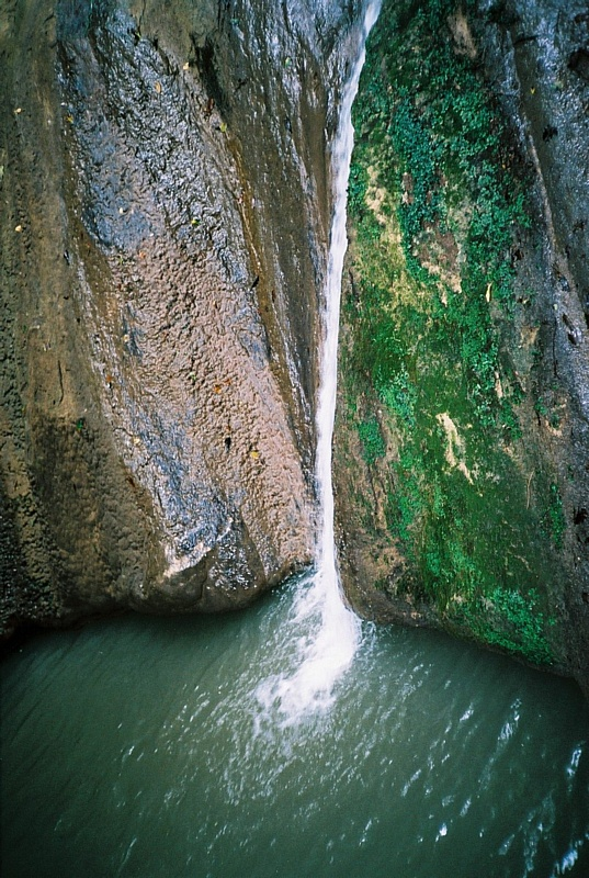 Ореховский водопад в Хостинском районе Сочи