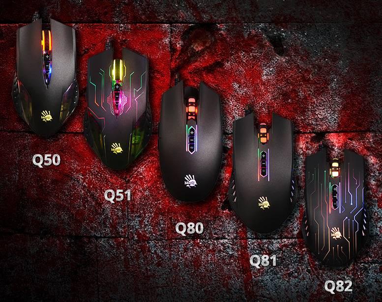 Новые игровые мыши A4Tech Bloody