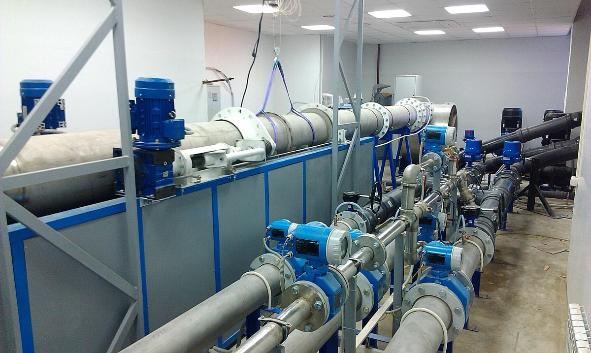 Поверочные установки для расходомеров и счетчиков жидкостей