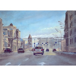 Лекция «Москва живописная: взгляд художника»