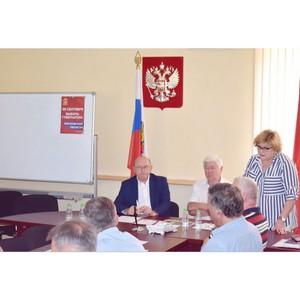 Союз промышленников и предпринимателей провел очередное заседание