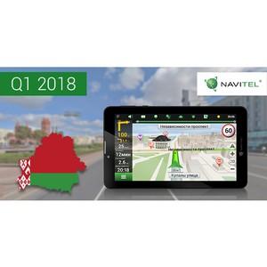 Компания NAVITEL® выпустила масштабное обновление карты Республики Беларусь