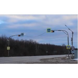 Удмуртэнерго выполняет работы по освещению федеральной трассы М-7