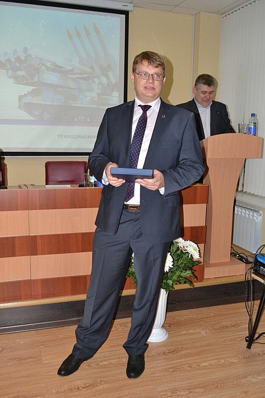 Поздравление АО «НПП «Старт» имени А.И. Яскина» с днем предприятия