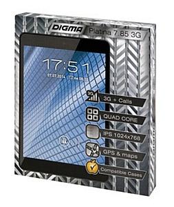 Первый планшет Digma семейства Platina - работа, учеба и отдых вместе с новым Digma Platina 7.85 3G!